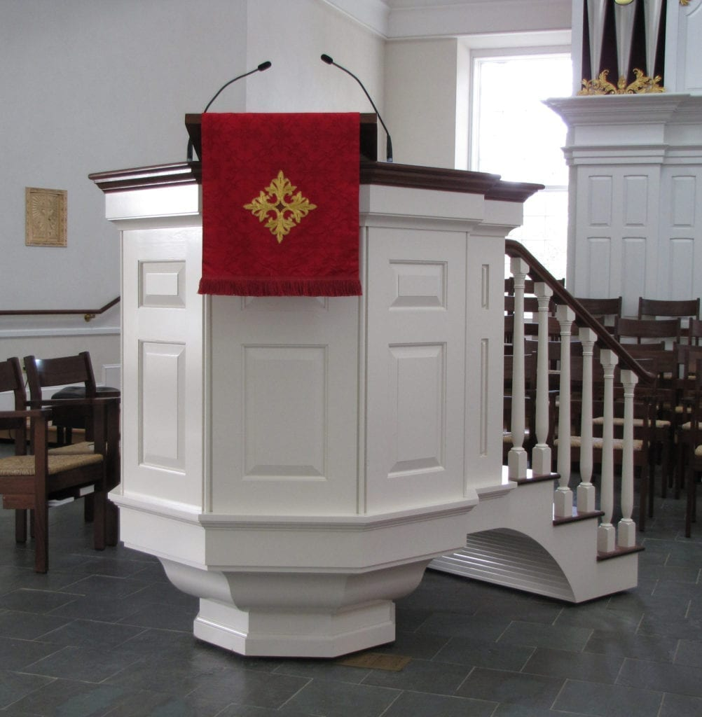Pulpit_St. David's Episcopal Church, Wayne, PA