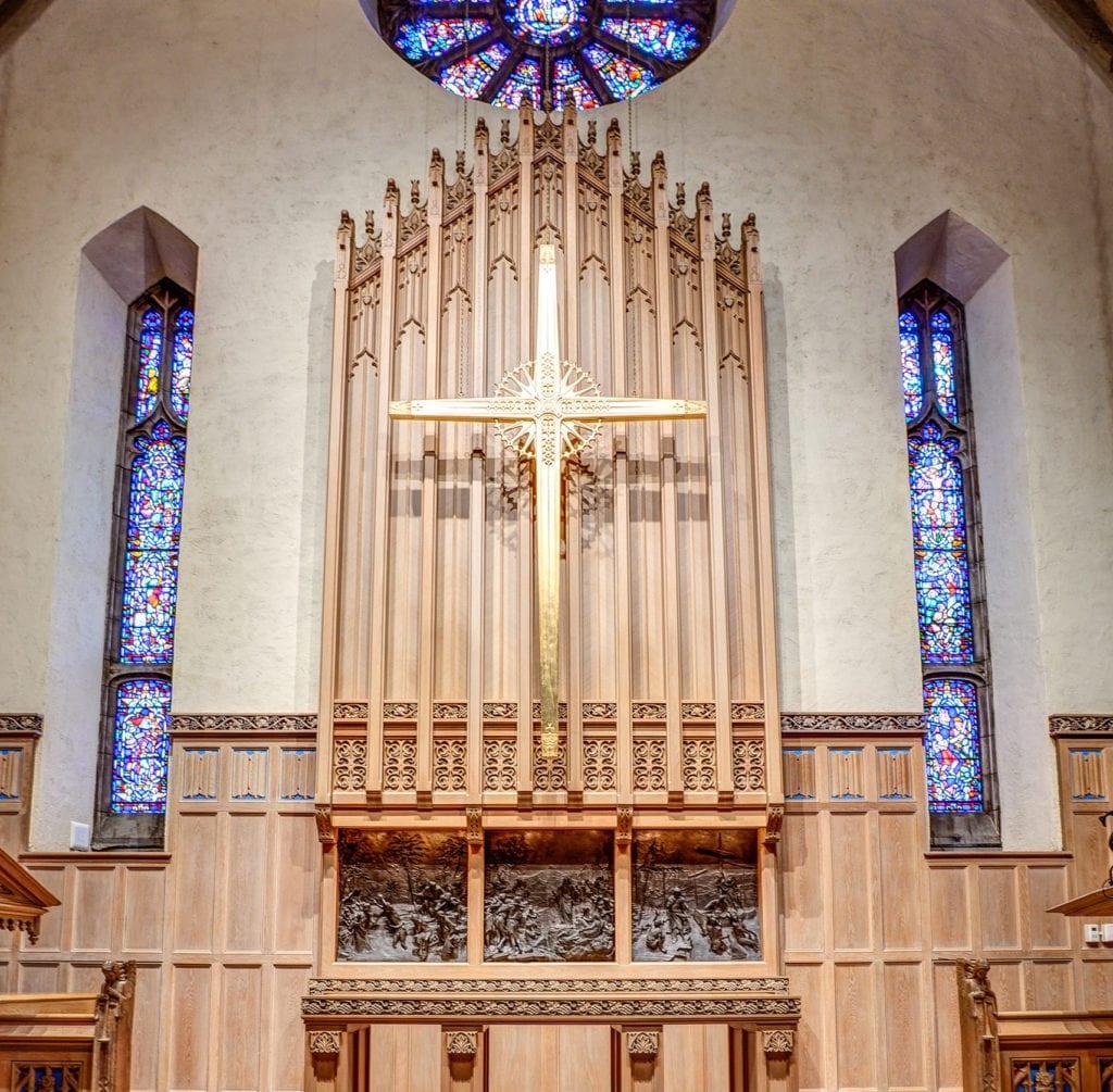 Reredos_Bryn Mawr Presbyterian Church, Bryn Mawr, PA