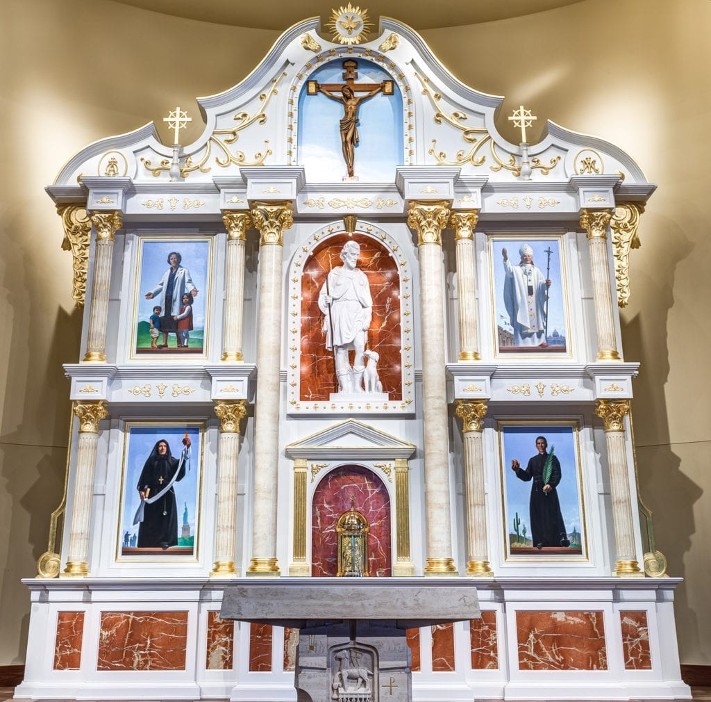 Retablo_St. Rocco Catholic Church, Avondale, PA
