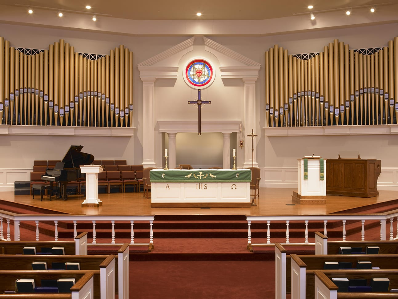 Wide view of Sanctuary