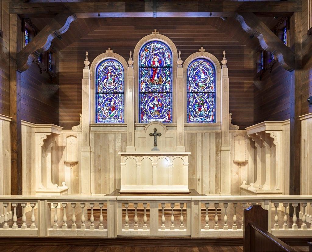 custom communion rail