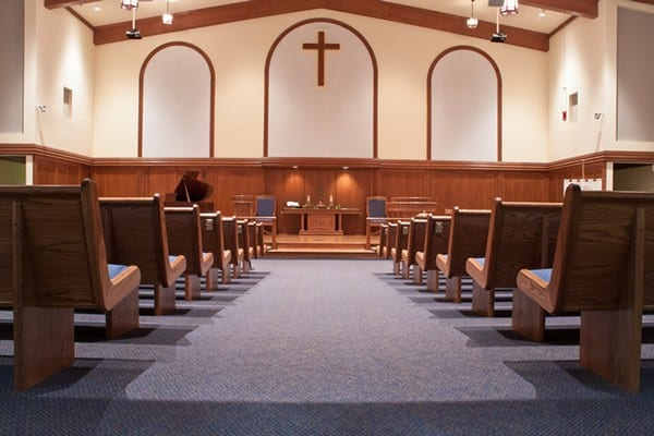 Interior, Albright United Methodist