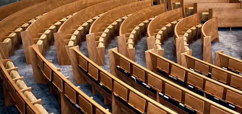 Self-rising Theatre Seats