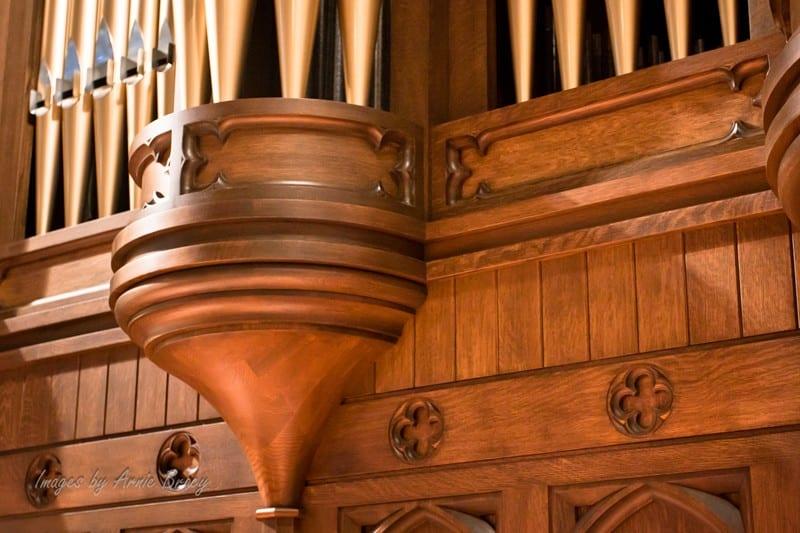 organ bell detail