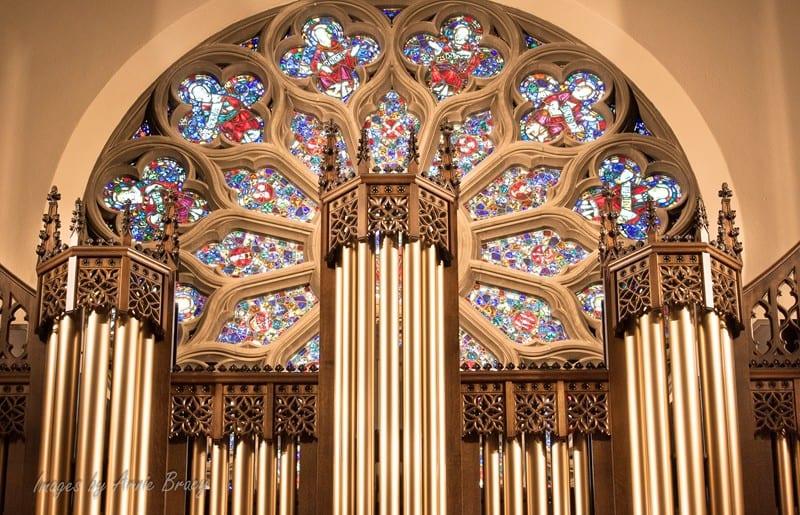 organ pipe casework