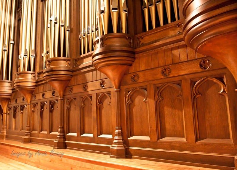 organ pipe bottom