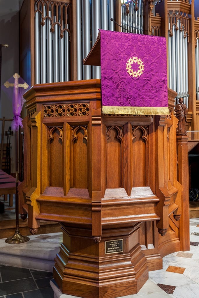custom pulpit