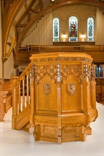 Repurposed Worship Furniture